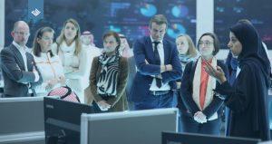 وفد بلجيكي لدى زيارته (اعتدال): مندهشون من توظيف التكنولوجيا لمكافحة التطرف