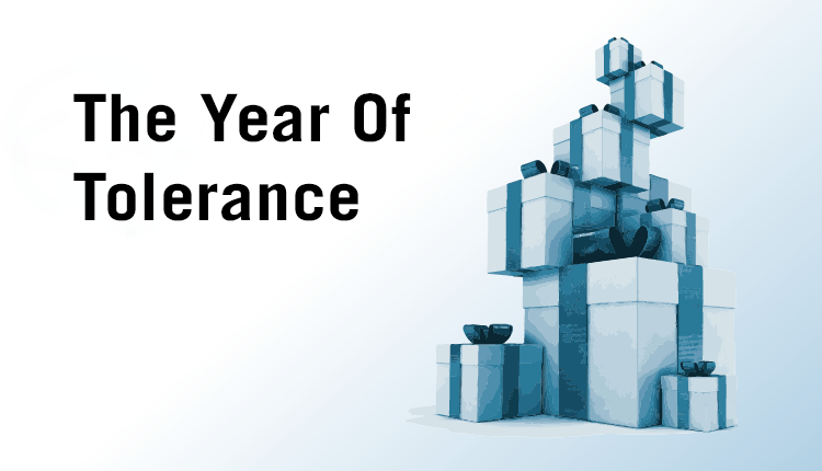 the year of tolerance etidal. Black Bedroom Furniture Sets. Home Design Ideas